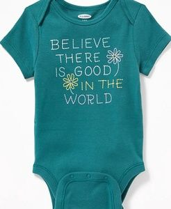 Baby Good In the World Onesie